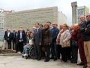 Magnífica resposta do tecido deportivo da cidade ao monumento aos olímpicos e paralímpicos