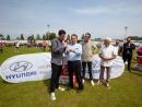 Un veciño de Ponteareas, que mercou o boleto ao CD Coya, gañador do ciclomotor da Vigo Cup sorteado polo concesionario Hyupersa