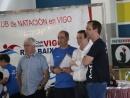 Abel Caballero e Manel Fernández clausuraron a Liga de Natación Escolar Concello de Vigo que venceu o Apostol Santiago