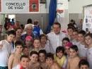 Última xornada da Liga Concello de Vigo de natación escolar que clausurarán Abel Caballero e Manel Fernández